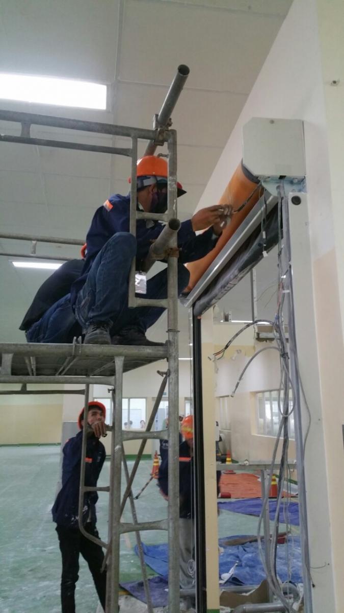 Sửa Chữa Các Loại Cửa Cuốn Nhanh PVC