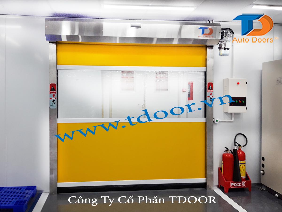 Cửa cuốn nhanh Model : TD-20AP